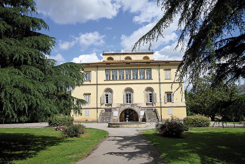 La Villa Puccini e il parco di Scornio