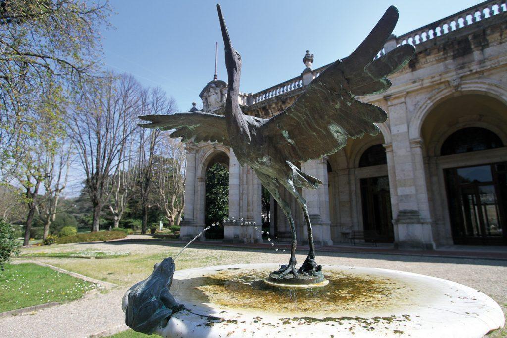 statua tettuccio Montecatini Terme