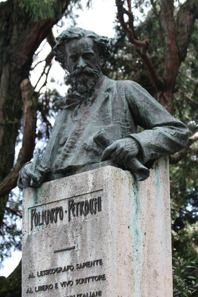 Inaugurazione del Parco Letterario Policarpo Petrocchi