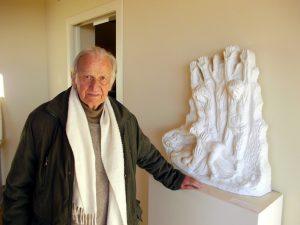 Lo scultore Gino Terreni