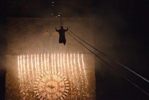 befana campanile pistoia piazza duomo