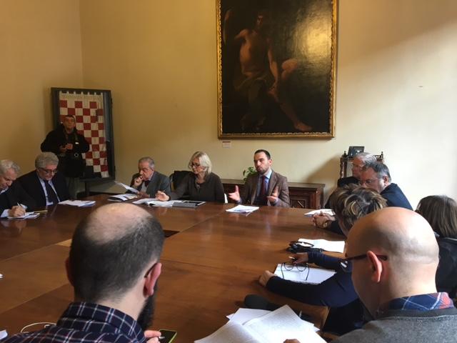 sindaco conferenza stampa pistoia capitale cultura