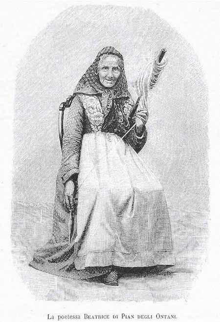 Poetessa pastora Beatrice Bugelli