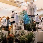 Le creazioni esposte nel fashion garden