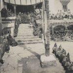 Una fase della gran tamascia di Himix e altare per le offerte 1913