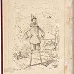 """Disegno di Enrico Mazzanti nella prima edizione in volume di """"Pinocchio"""" (1883)"""
