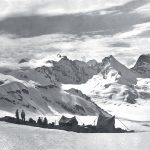 Tramonto al campo m. 5550, valle Durung-Drung (cfr. Himalaya Cashmiriano Rizzoli, 1930, tavola fuori testo, p.336)