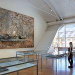 L'opera Die Grosse Fracht, 2006-2007, nella sala dove è allestita la mostra