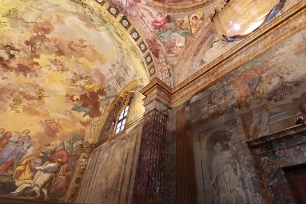 La visitazione di luca della robbia nella chiesa di san for Chiesa di san leone pistoia