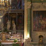 Interno della Chiesa di Santa Maria Assunta di Popiglio