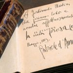 Il Piacere di Gabriele D'Annunzio con dedica autografa a Ferdinando Martini