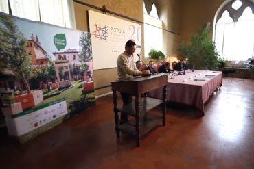 Pistoia Capitale Cultura 2017 - Presentazione NATURART 24