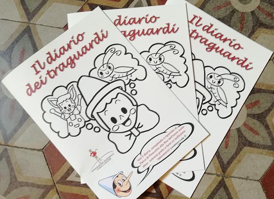 Il DIARIO dei TRAGUARDI in regalo dalla Fondazione Collodi ai piccoli studenti