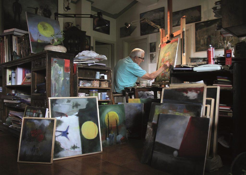 Germano Pacelli: l'artista partigiano