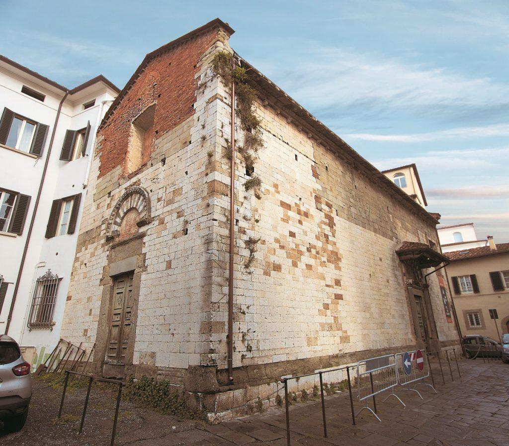San Biagino, tesoro romanico nascosto nei vicoli di Pistoia