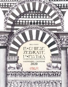 "CALENDARIO 2020 ""Le chiese zebrate in Pistoia"""