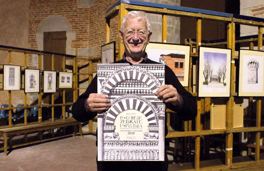 In Battistero a Pistoia la mostra di Bill Homes