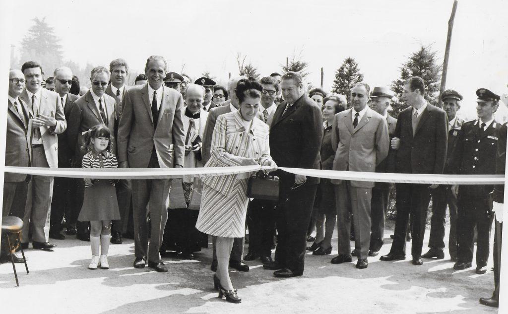 Inaugurazione del Giardino Zoologico, fondato 50 anni fa da Raffaello Galardini e Gian Franco Cavicchio.