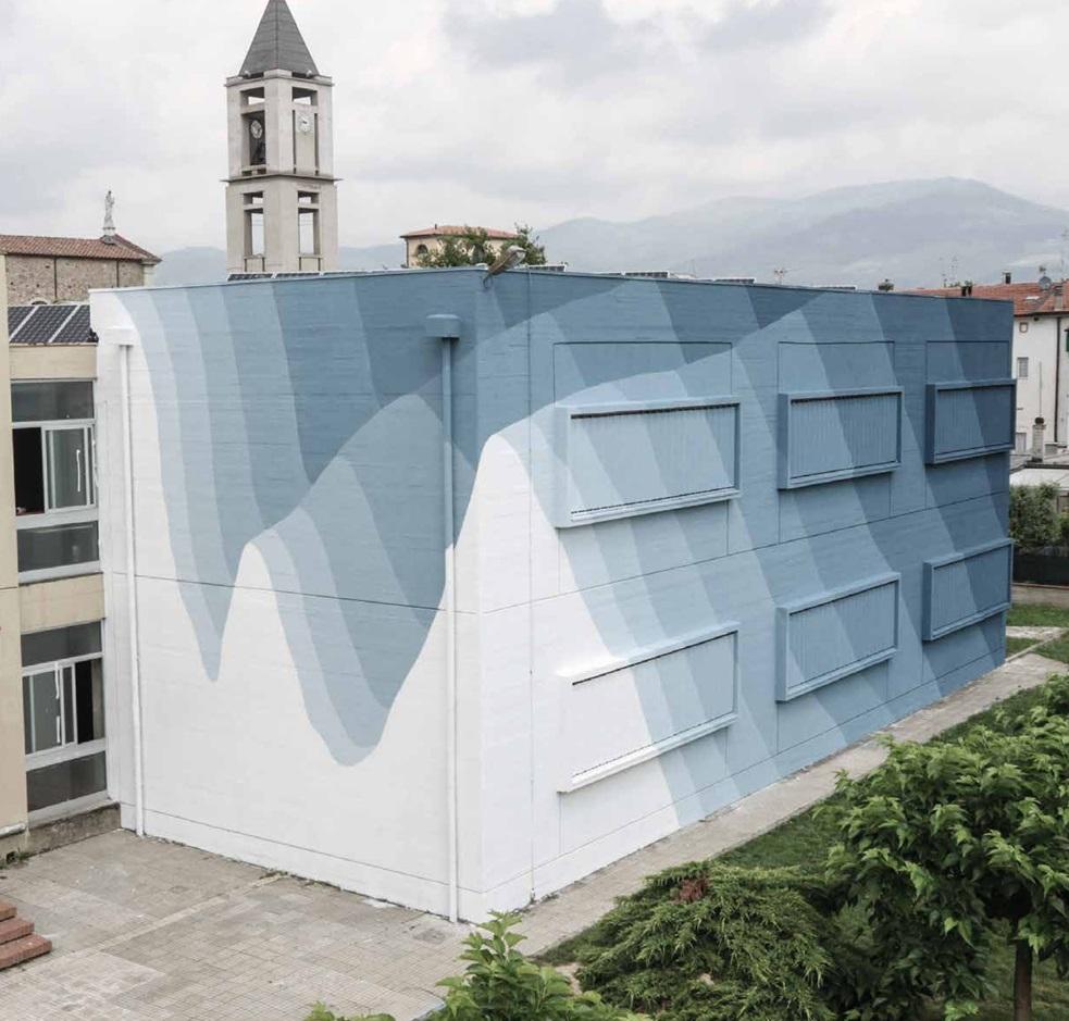 Il murale di Roberto Ciredz