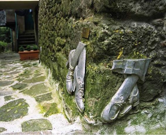 Castagno di Piteccio Il borgo museo di Pistoia