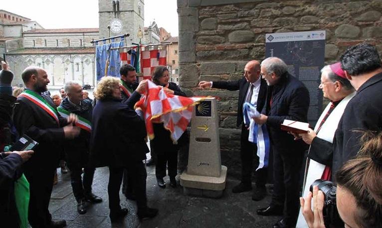 Pistoia crocevia dei pellegrinaggi europei