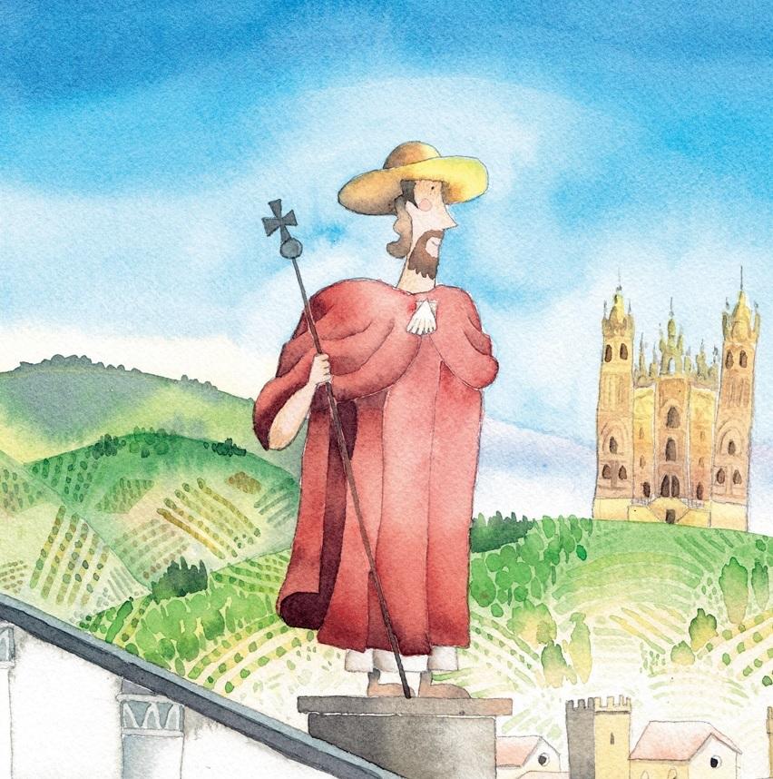 Il legame indivisibile con Santiago di Compostela