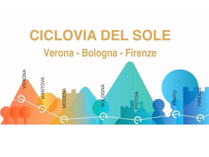 Ciclovia del Sole: partirà da Pistoia il primo tratto toscano.