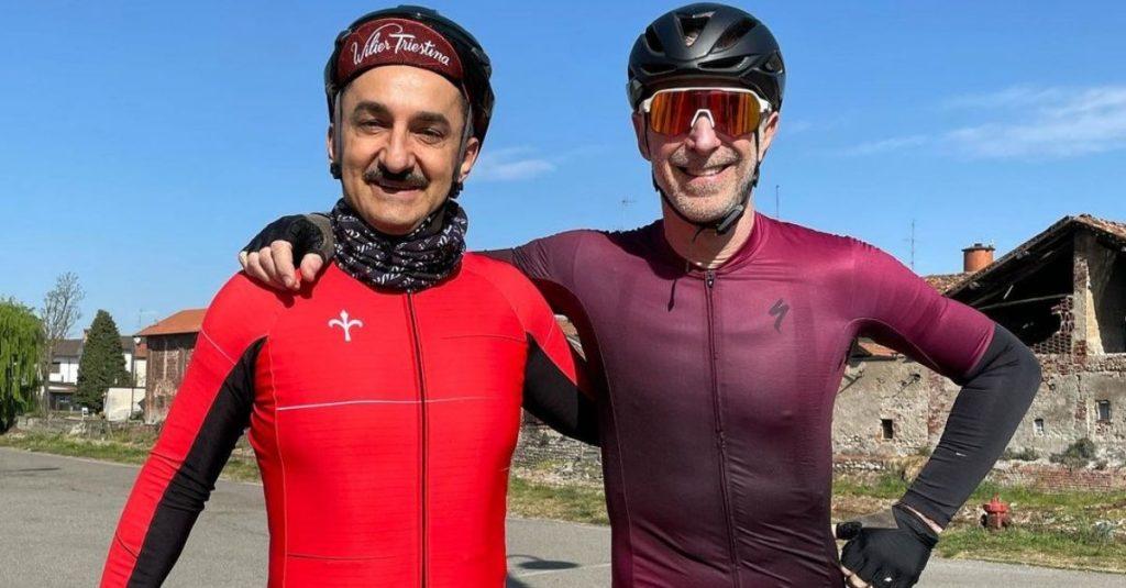 Tour De Fans, il viaggio in bicicletta di Linus e Nicola Savino arriva a Dynamo Camp