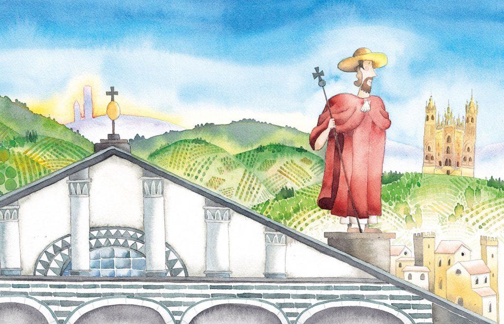 L'ANNO IACOPEO all'Ospedale di Pistoia: l'antico legame tra Pistoia e Compostela