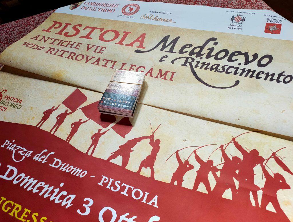 Pistoia torna indietro nel tempo con  'Festival dei luoghi medievali' e 'Pistoia Medioevo e Rinascimento'